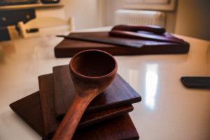 Oggetti in legno per la cucina